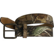 Realtree® Men's Leather-Lined Canvas Belt