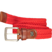 Dockers® Leather-Trim Web Belt