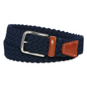 Dockers® Braided Navy Belt