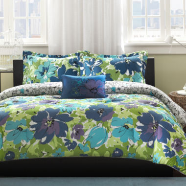 jcpenney.com | Mi Zone Anna Floral Comforter Set