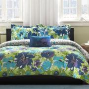 Mi Zone Anna Floral Comforter Set