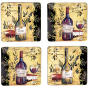 Wine & Cheese Party Earthenware Dinnerware Collection
