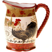 Certified International Tuscan Rooster Pitcher