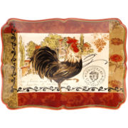 Certified International Tuscan Rooster 16x12