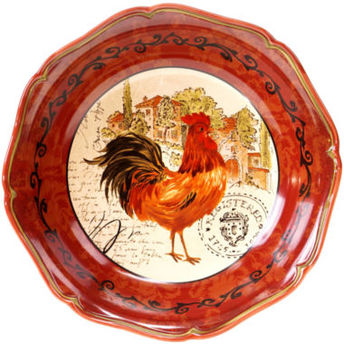 jcpenney.com | Certified International Tuscan Rooster Serving Bowl