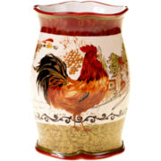 Certified International Tuscan Rooster Wine Cooler