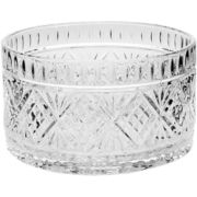 Dublin by Godinger Crystal Salad Bowl