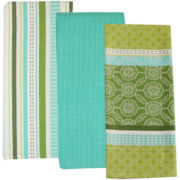 Garden Gate Set of 3 Dish Towels