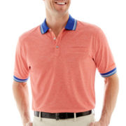 Jack Nicklaus® Heathered Piqué Polo