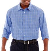 Claiborne® Long-Sleeve Woven Shirt–Big & Tall