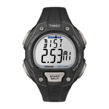 jcpenney.com | Timex® Ironman Classic 50 Move+ Mens Black Bezel Digital Watch TW5K86500F5