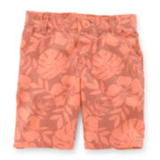 Carter's® Tropical Flower Bermuda Shorts - Preschool Girls 4-6x