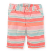 Carter's® Striped Bermuda Shorts - Preschool Girls 4-6x