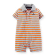 Carter's® Jersey Striped Romper - Baby Boys newborn-24m