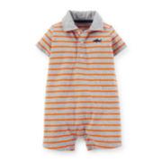 Carter's® Jersey Striped Romper - Baby Boys newborn-24m