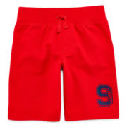 Okie Dokie® French Terry Shorts - Toddler Boys 2t-5t