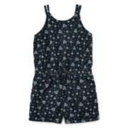 Arizona Printed Romper - Preschool Girls 4-6x