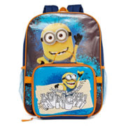 Minion Backpack and Lunch Box