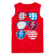 Okie Dokie® American Muscle Tee – Toddler Boys 2t-5t