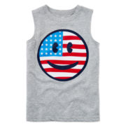 Okie Dokie® American Muscle Tee - Preschool Boys 4-7