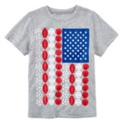 Okie Dokie® American Graphic Tee – Preschool Boys 4-7