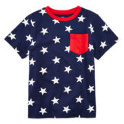 Okie Dokie® American Pocket Tee - Toddler Boys 2t-5t