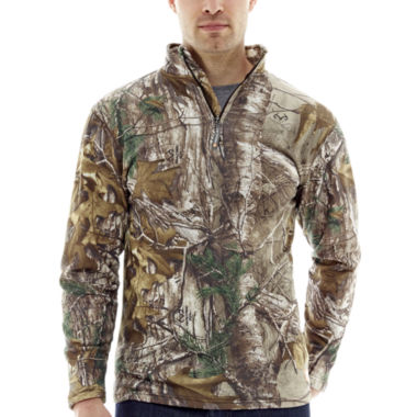 jcpenney.com | Medalist® Realtree™ Heatlock Fleece Thermal Pullover