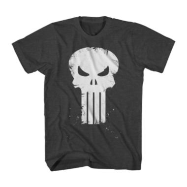 jcpenney.com | Marvel® Punisher™ Skull Scratch Graphic Tee