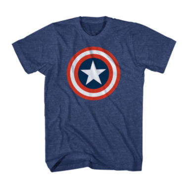 jcpenney.com | Marvel® Captain America™ Shield Graphic Tee