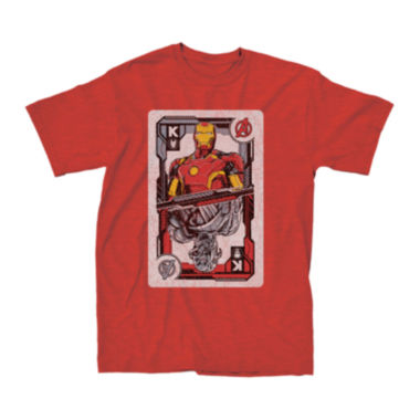 jcpenney.com | Marvel® Iron Man™ King Card Graphic Tee