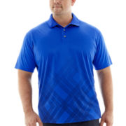 The Foundry Supply Co.™ Printed Polyester Polo-Big & Tall