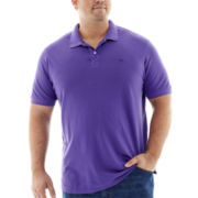 Dockers® Soda Wash Polo Shirt-Big & Tall