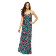 L'Amour by Nanette Lepore Sleeveless Popover Maxi Dress