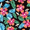 Black/hula Print