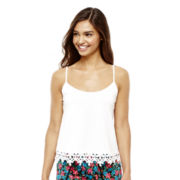 L'Amour by Nanette Lepore Crochet-Trim Cami