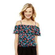 L'Amour by Nanette Lepore® Short-Sleeve Off-the-Shoulder Top