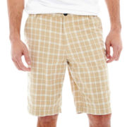 JF J. Ferrar® Plaid Shorts