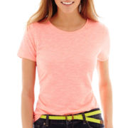 Stylus™ Short-Sleeve Relaxed Fit Crewneck Slub T-Shirt