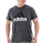 adidas® Adilogo Tee–Big & Tall