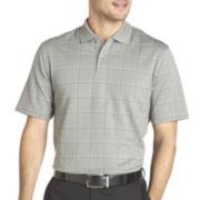Van Heusen® Short-Sleeve Windowpane Polo