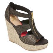 SM Rosalyn Strap Sandal Wedges