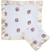 aden™ by aden + anais® 2-pk. Security Blankets - Monkey