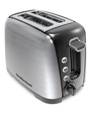 Hamilton Beach® Brushed Chrome 2-Slice Toaster