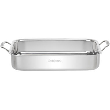 "jcpenney.com | Cuisinart® 14"" Lasagna/Roasting Pan with Stainless Steel Rack"