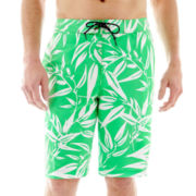 St. John's Bay® Patterned Swim Trunks