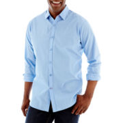 Haggar® Long-Sleeve Button-Front Shirt