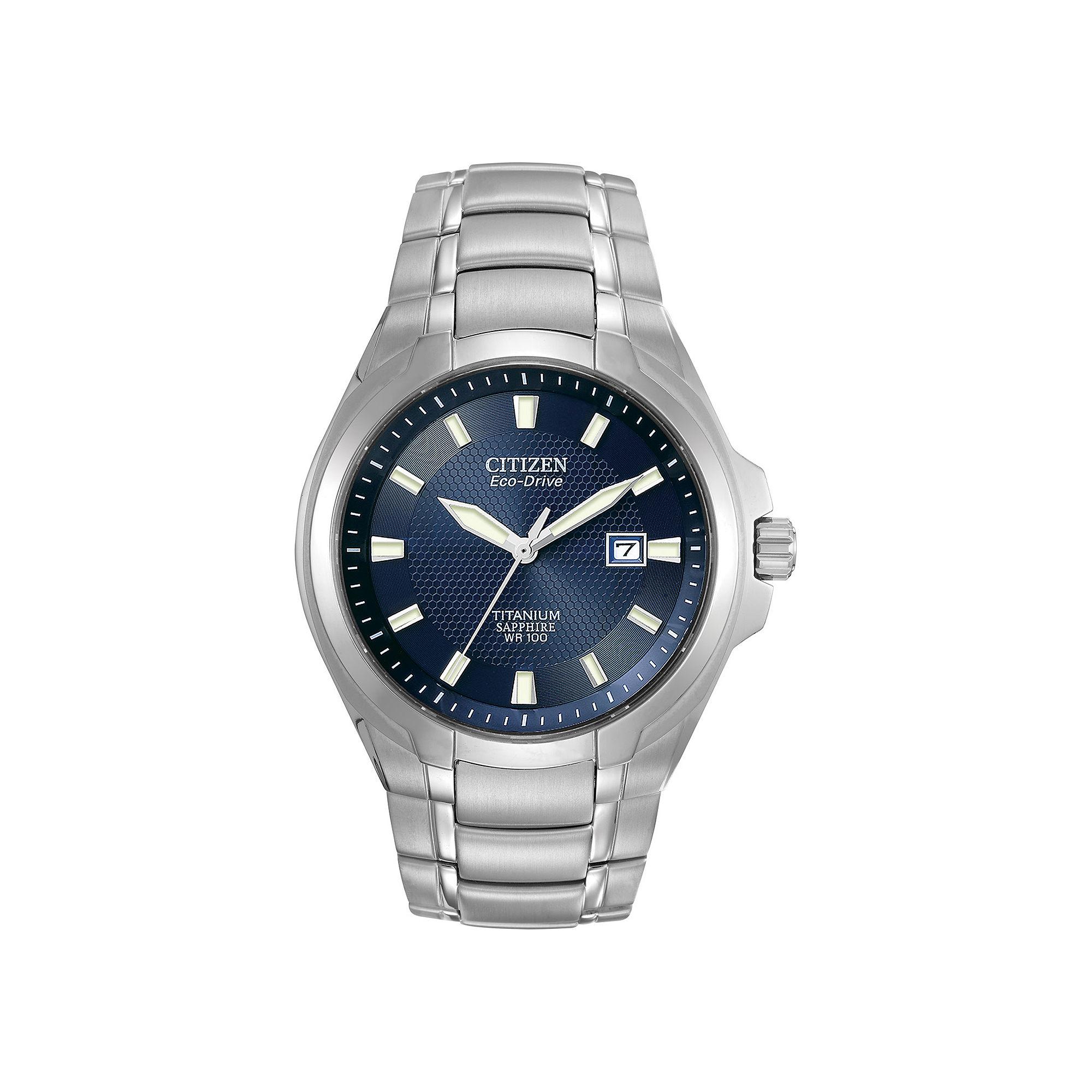 Citizen Eco-Drive Mens Titanium Watch BM7170-53L