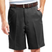Haggar® Cool 18® Straight-Fit Flat-Front Shorts