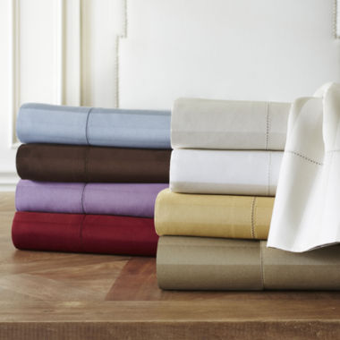 jcpenney.com | Royal Velvet® 500tc Wrinkle-Free Damask Stripe Sheet Set