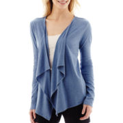 Liz Claiborne® Long-Sleeve Cozy Knit Cardigan